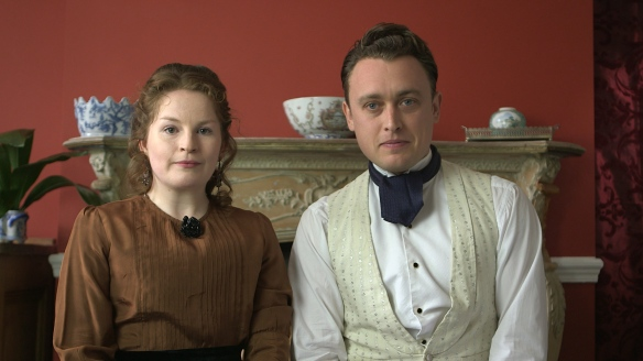 Catherine Skinner and Sam Wilkin as Gertrude and Matthew in Wimpole Street